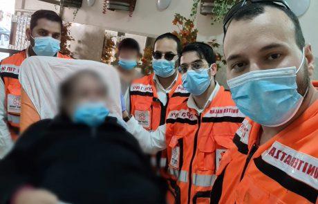 תחת הסלוגן לא משאירים אף אחד מאחור: איחוד הצלה הצליחו לעזור ל-8 מרותקים בית לקבל את החיסון; צפו בתמונות המרגשות