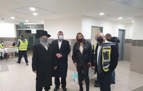 אמש באשדוד: כאלף מתחסנים בערב אחד