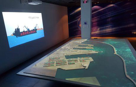 בנמל אשדוד נערכים לפתיחת מרכז המבקרים; עד אז מציעים בנמל סיור וירטואלי