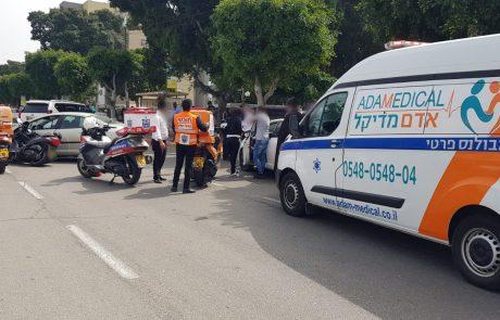 אשדוד: בן 24 שרכב על אופנוע נפצע בינוני בתאונה