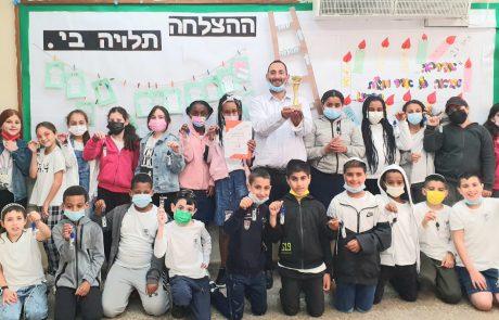 525 בתי ספר וזוכה אחת : קבלו את הזוכה בתחרות 'עת הדעת' הארצית