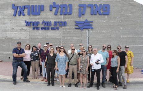 הוסר הלוט בפארק נמלי ישראל באשדוד | כל הפרטים
