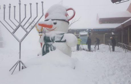 עונת השלג כבר כאן – אתר החרמון נפתח למבקרים