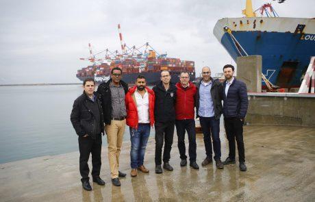החורף חוזר: נמל אשדוד נערך למזג האוויר הסוער