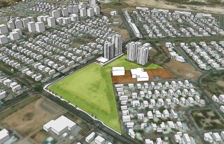 """פרויקט """"בית בלב הרובע"""", שייבנה ברובע ט""""ו באשדוד, יכיל 250 יחידות דיור בלבד במקום 750 שתוכננו מלכתחילה"""