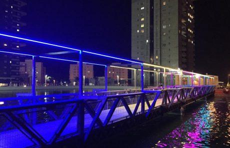 גשר האורות של אשדוד