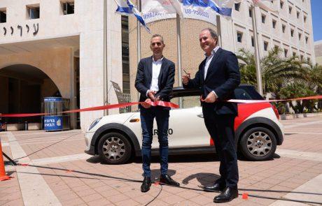 מהיום באשדוד: רכבים שיתופיים לטובת הציבור