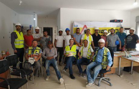 ארגון קבלני הנגב פתח בהכשרת עוזרי בטיחות לאתרי בנייה