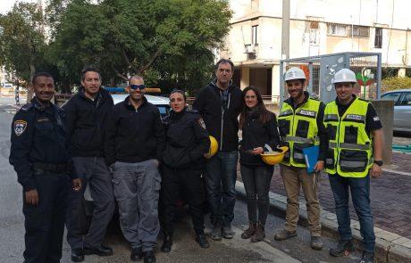 20 אתרי בנייה נסגרו אתמול באשדוד במהלך ביקורת